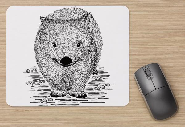 Chance wombat mousepad