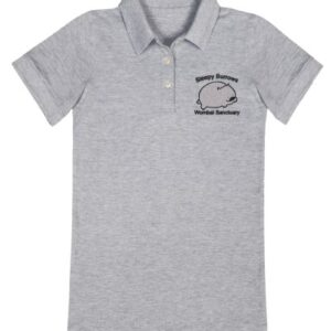 Sleepy Burrows Grey Polo Shirt