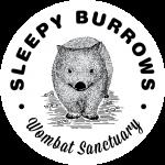 Sleepy burrows sticker