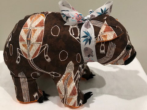 Wombat toy - brown